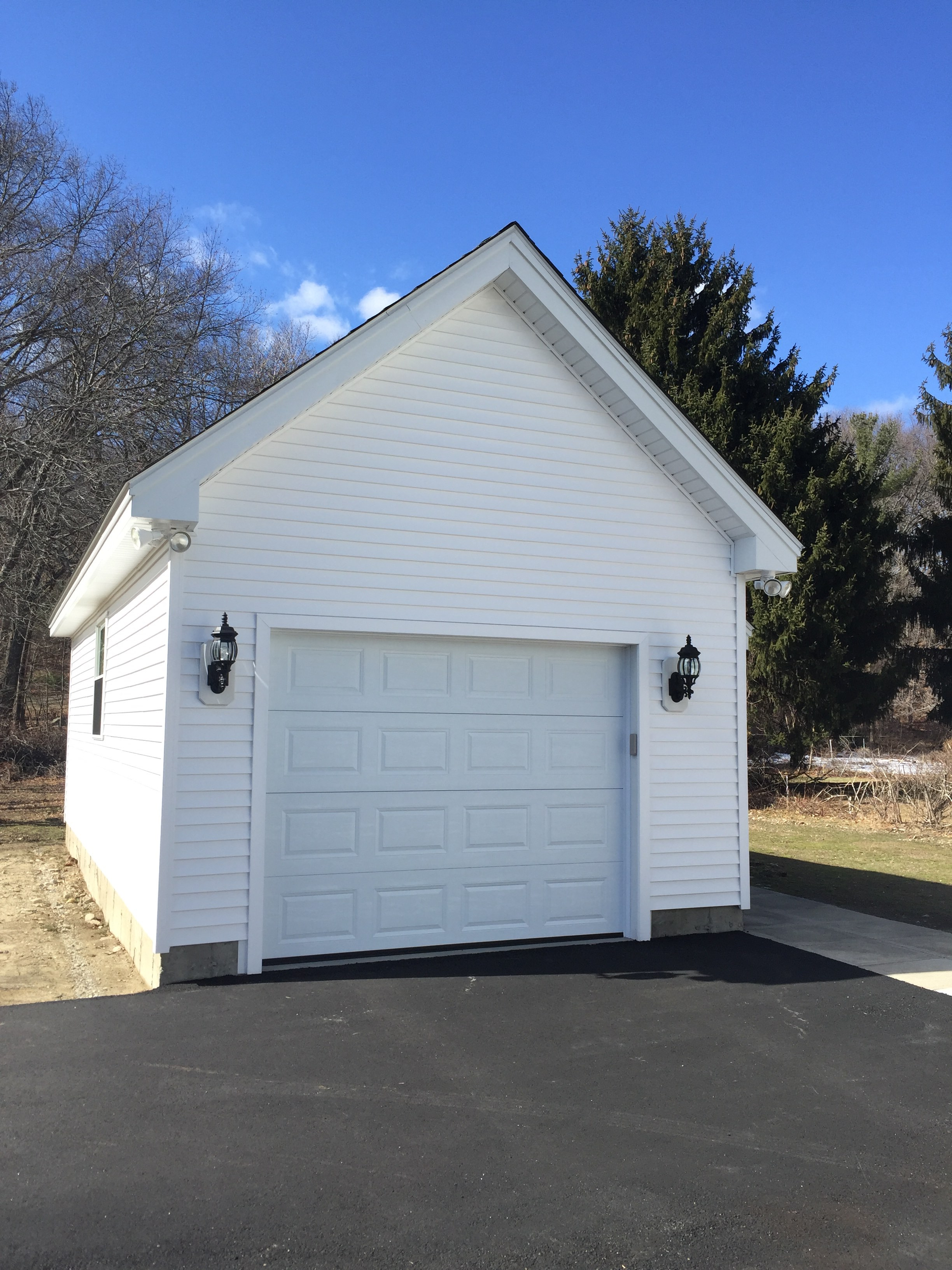 Building a new garage in millbury general contracting for Build a new garage