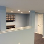 finished basement project