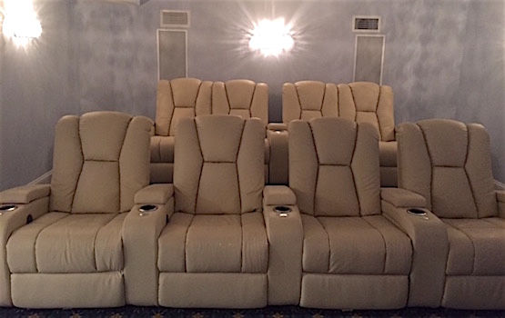 basement finishing movie theatre