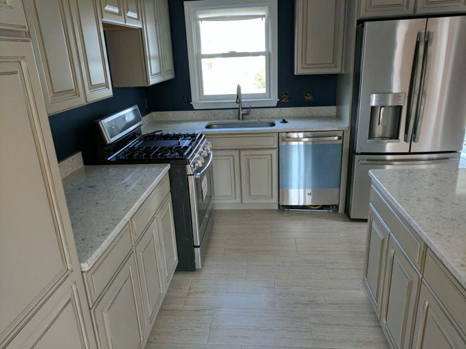 updating kitchen in lowell ma